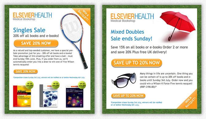 Elsevier tennis templates