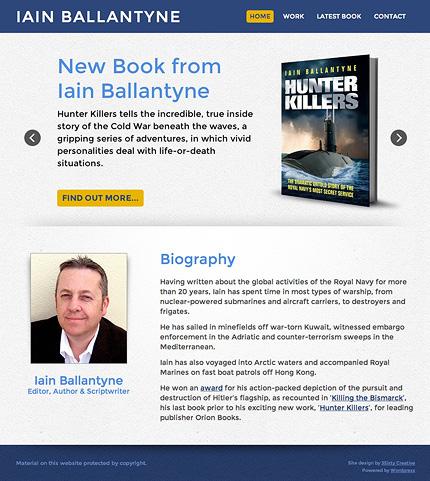 Iain Ballantyne Author Website