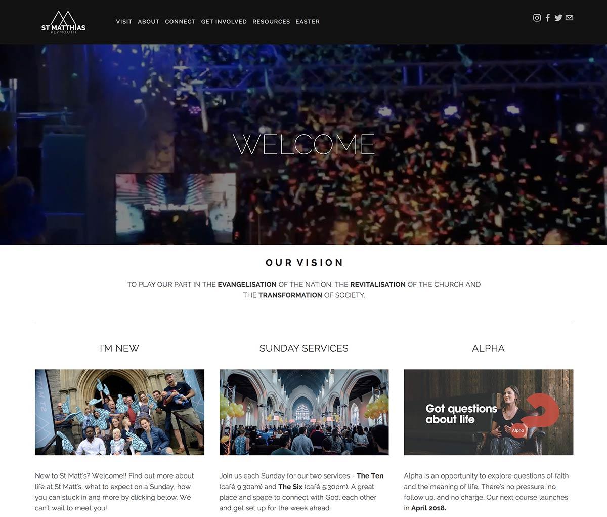 10 Best Uk Church Websites In 2018 3sixty Creative