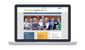 All Saints Lightwater Church website