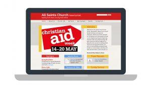 All saints Newmarket Church website