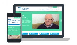 My Clinical Coach website design