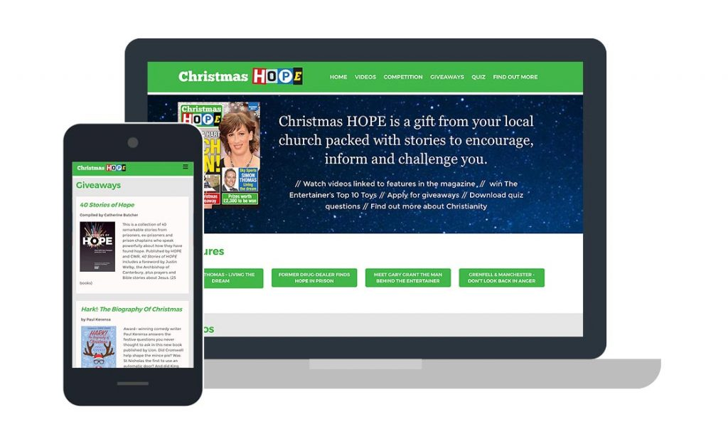 Christmas HOPE Website