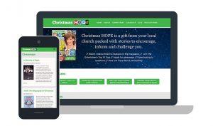 Christmas Hope Website