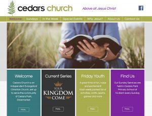 Cedars Church website