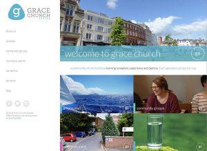 Grace church Exeter website