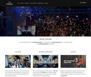 St Matthias Church, Plymouth website