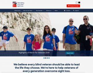 Blind Veterans Website