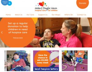 Helen Douglas House Website