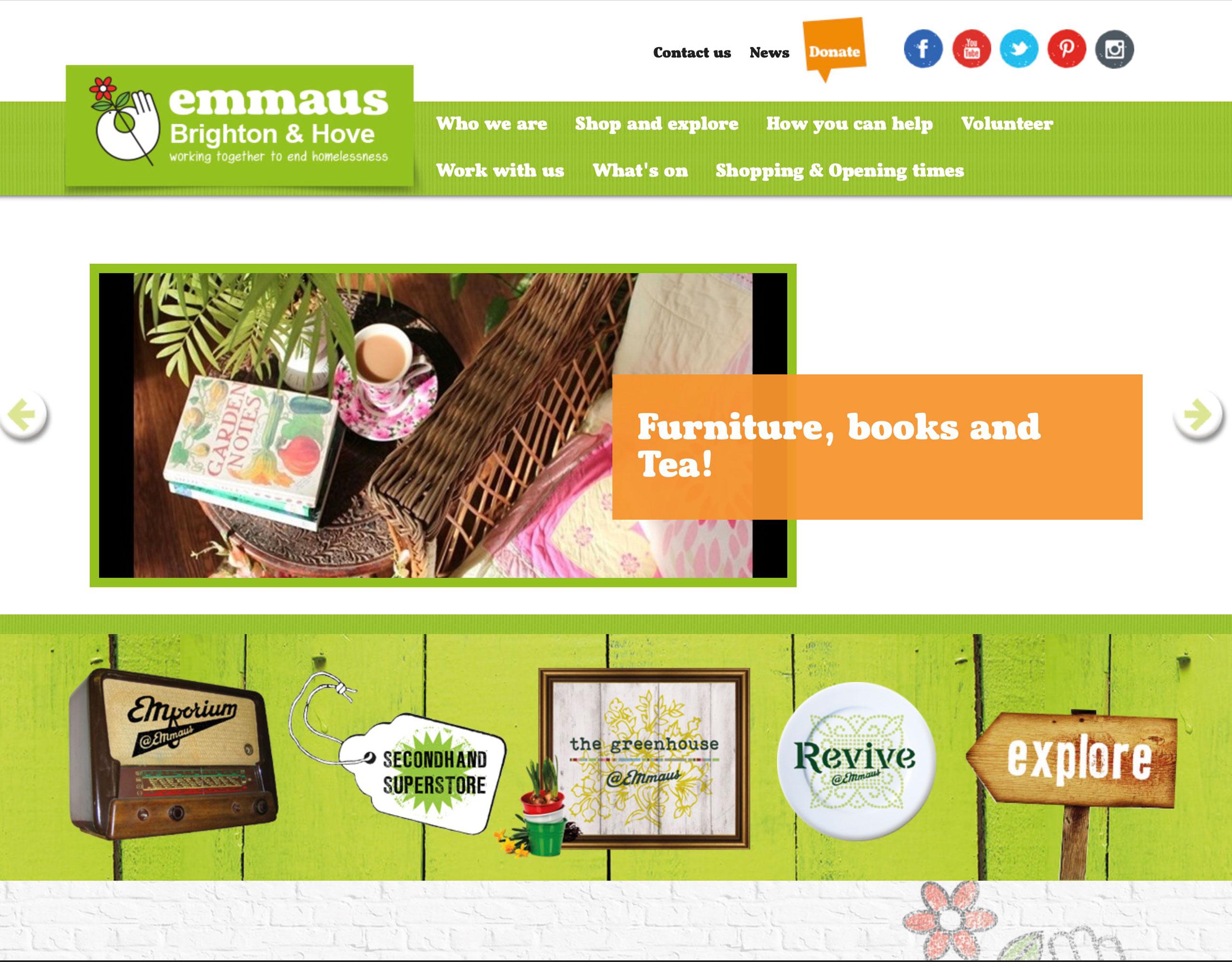 emmaus brighton website